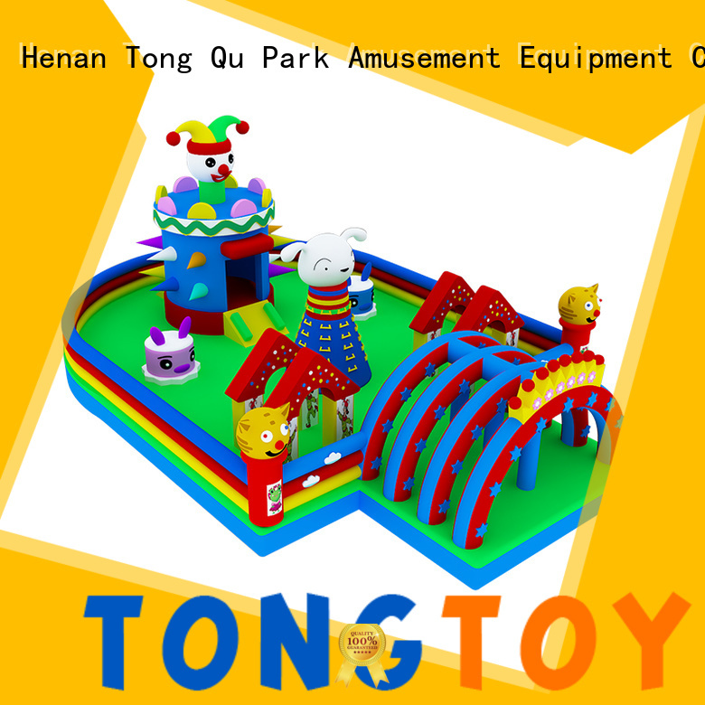 Tongtoy inflatable bouncer inquire now for kids