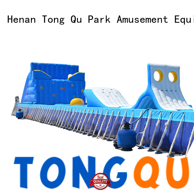 Tongtoy premium quality bouncy obstacle course hire manufacturers for adult