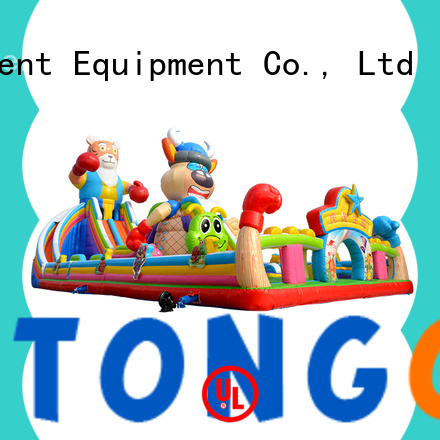 Heat resistant children's bounce house inquire now for outdoor