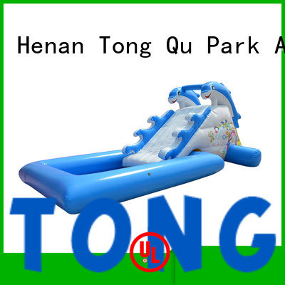 customized inflatable water slide order now