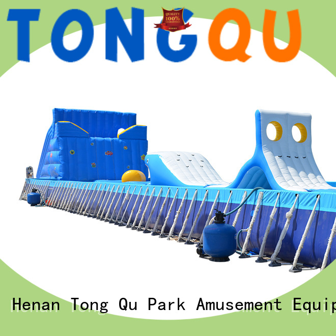 Tongtoy inflatable obstacle course inquire now for amusement park