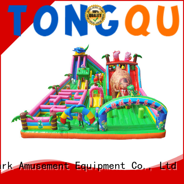 colorful inflatable bouncer supplier for kids