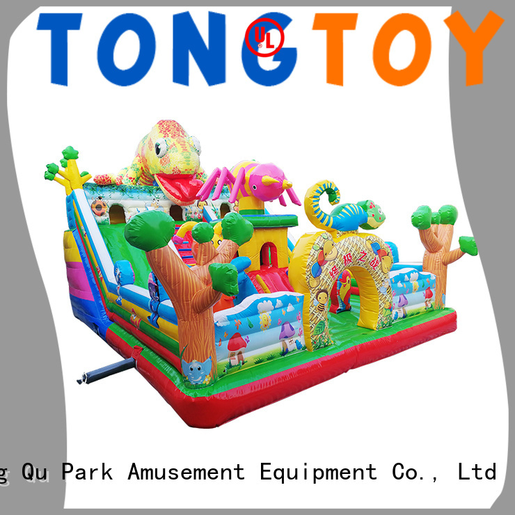 Tongtoy water bounce house supplier for kids