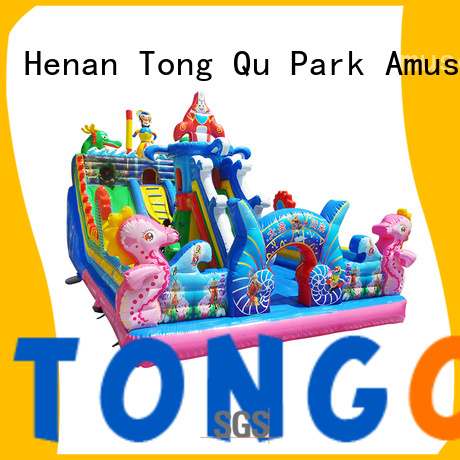 Tongtoy inflatable bounce house wholesale for outdoor