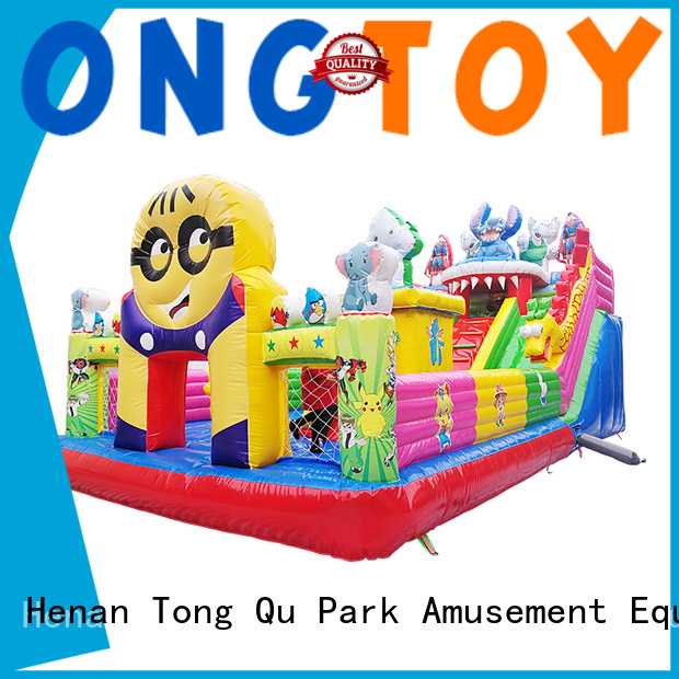 Heat resistant water bounce house wholesale for kids