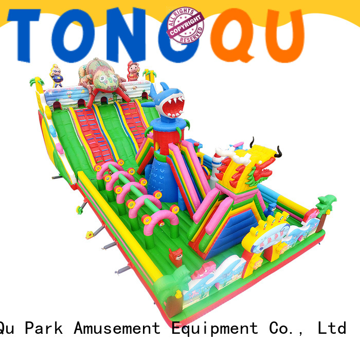 Tongtoy colorful inflatable bounce house supplier for outdoor
