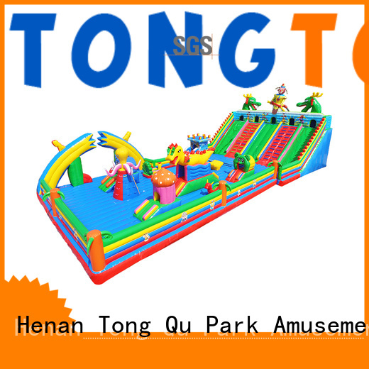 Tongtoy Heat resistant inflatable bounce house wholesale for adult