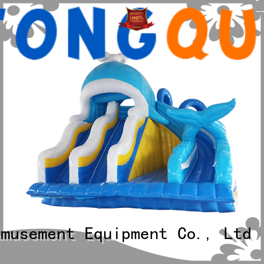 Tongtoy water slide bounce house factory price for swimming pool